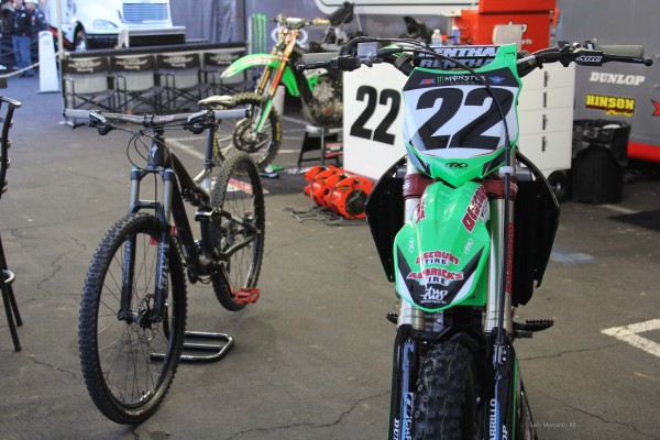 Chad Reed Race Bike and MTB (2)