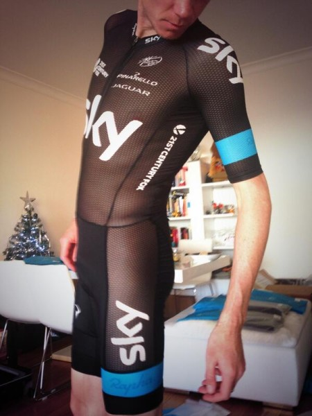 Chris Froome Mesh Skinsuit twiter