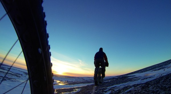bikerumor pic of the day Kuujjuaq, Nunavik, Canada fat biking