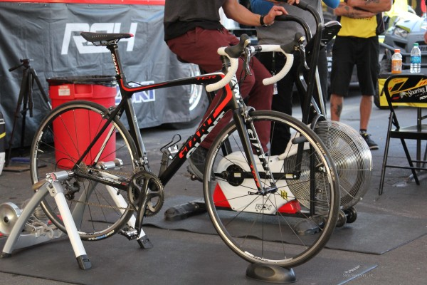 James Steward Race Bike and Giant Road Bike (2)