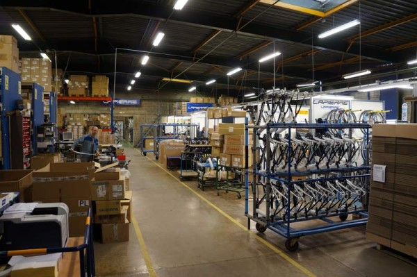 Lapierre Cycles headquarters tour - assembly stations