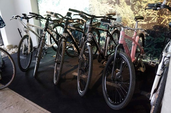 Lapierre Cycles headquarters tour - showroom bicycles