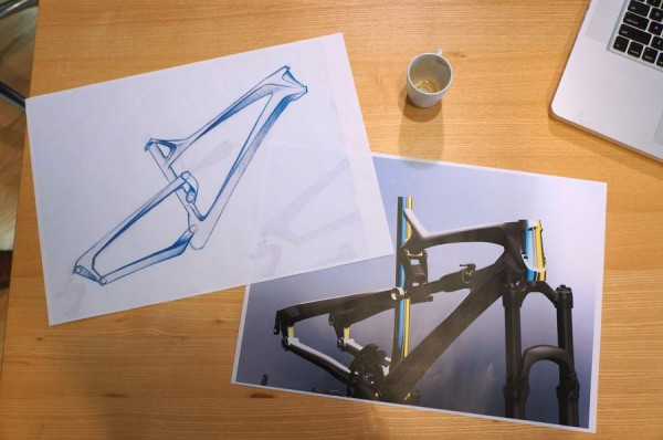 Lapierre Cycles headquarters tour - prototype drawings and renderings