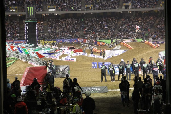 Oakland SX Behind the Scenes