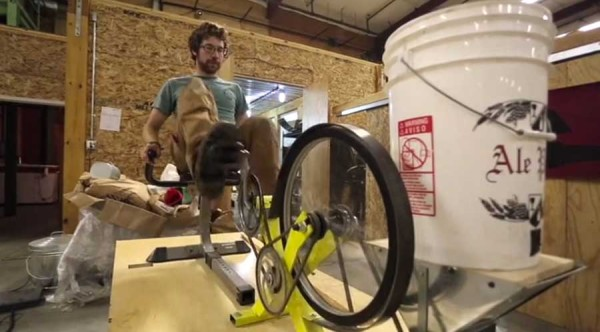 Pedal-Power-Pedal-Genny-Glass-Bottom-Brewery-grain-grinding-cycle