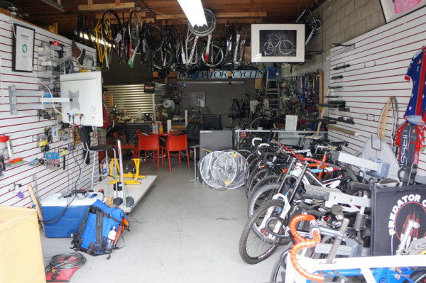 Predator Cycles factory tour - carbon fiber workshop for bicycle frames repairs and component manufacturing