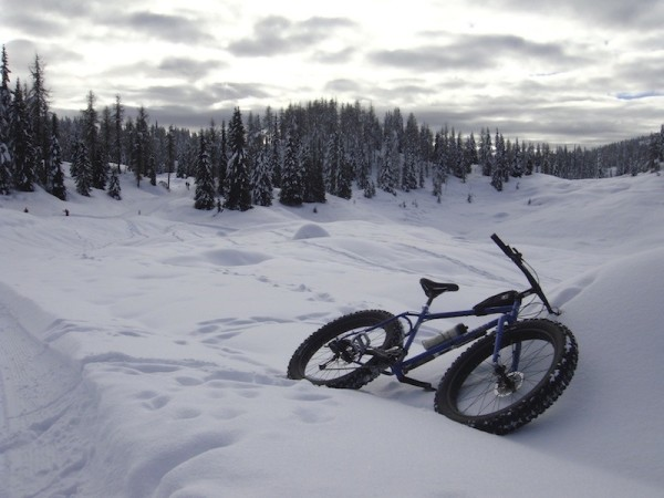 bikerumor pic of the day Asiago upland, North of Italy fat bike ride