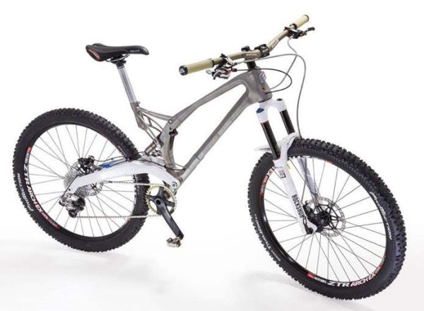 Worlds first 3D printed mountain bike frame from Empire Cycles and Renishaw