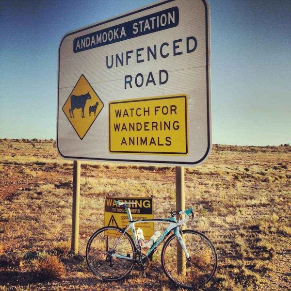 Roxby Downs and Andamooka South Australia. bikerumor pic of the day