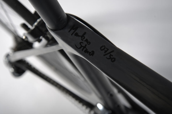 50th anniversary storck aernario road bike signed by Marcus Storck
