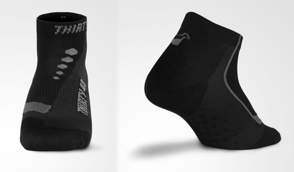 thirty48 cycling socks and compression calf sleeves