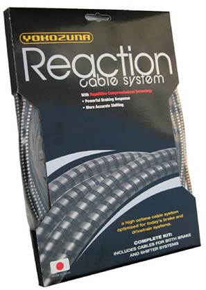 Yokozuna Reaction and Standard bicycle brake cable sets getting new universal and disc brake kits