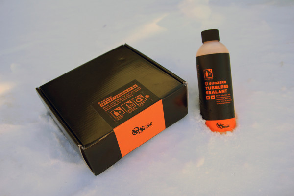 Frostbike: Orange Seal Goes Subzero, Offers New Cold Weather Sealant and Fat bike Tubeless Kits