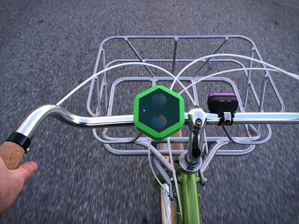 hack bluetooth speaker to provide turn by turn navigation on a bicycle