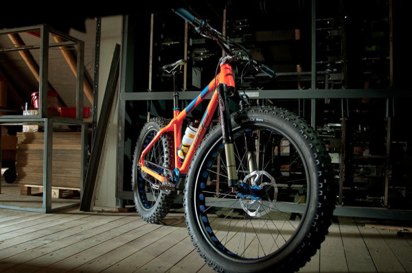 2014 Nicolai Argon Fat Pinion gear box fat bike with belt drive