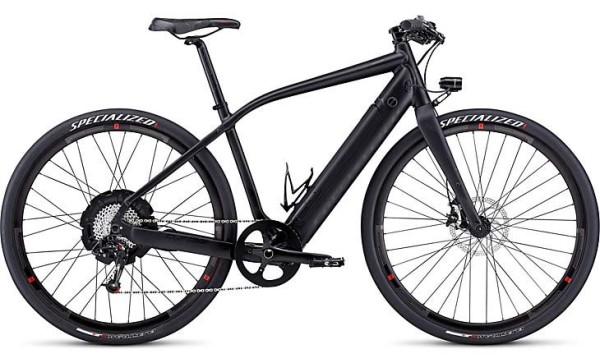 2014 Specialized Turbo-S e-bike gets stronger battery and better electronics with a new all-black colorway