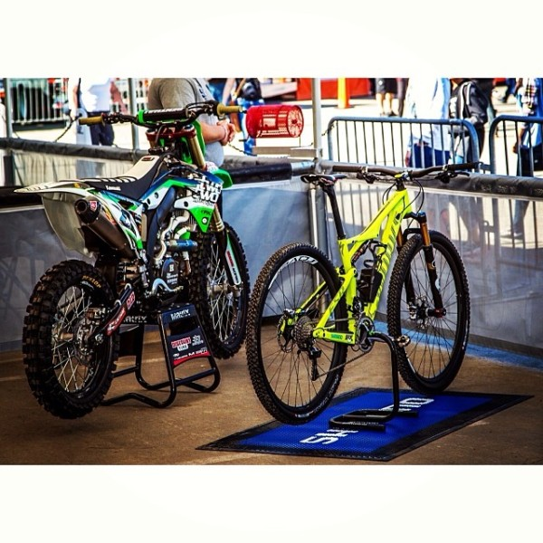 Chad Reed New bIke