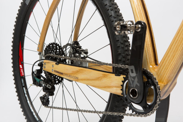 Connor Cycles wood mountain bike