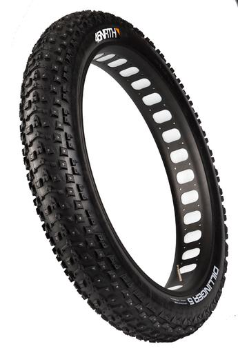 Dillinger 5 studded fatbike tire