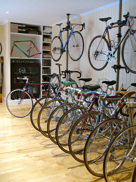 This Garage Is What A Cyclist Dreams Heaven Looks Like