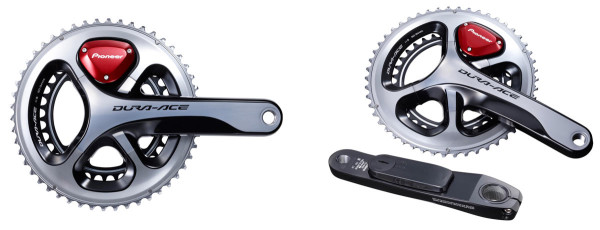 Pioneer cycling power meters for dura-ace and ultregra cranksets