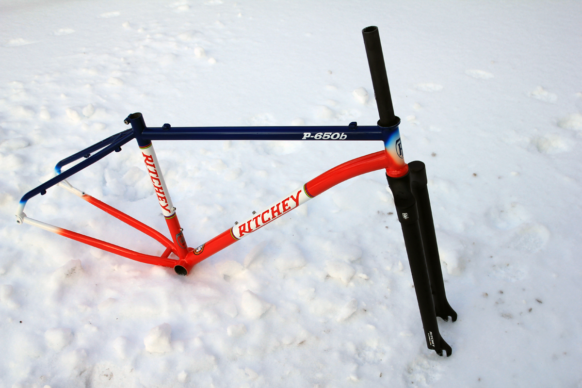 Ritchey P-650b Build Part 1 - Frame and Fork - Bikerumor