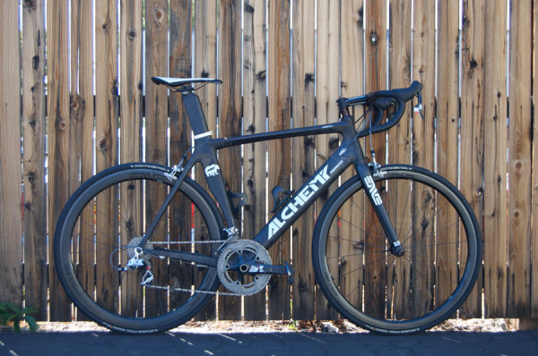 Alchemy Bicycles factory tour - prototype 2nd ten arion aero road bike