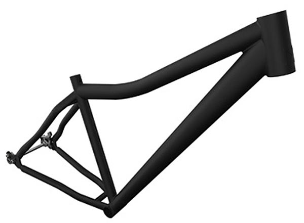 10th Anniversary Misfit Psycles Dissent X hardtail aluminum 29er mountain bike frame