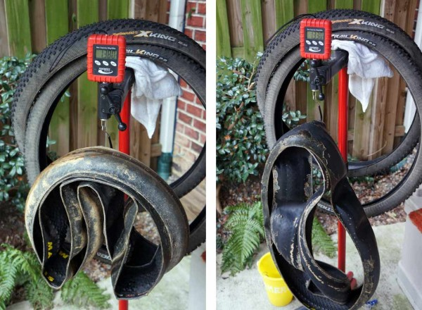 Mountain bike tubeless tire sealant tech - how much weight does tire sealant add to bicycle tires