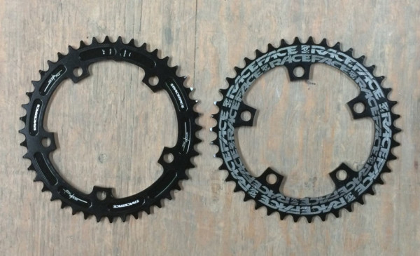 Race Face narrow-wide cyclocross chainrings
