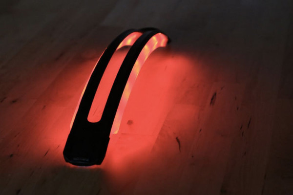 RevoLights ARC LED bicycle fender with integrated blinky and brake lights