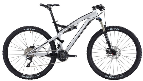 2014 Breezer Supercell 29er trail mountain bike with MLink full suspension design