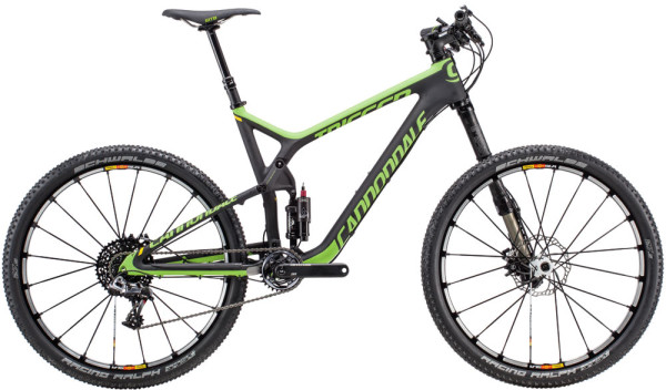 "2015 Cannondale Trigger Carbon 275"" 650B trail mountain bike"