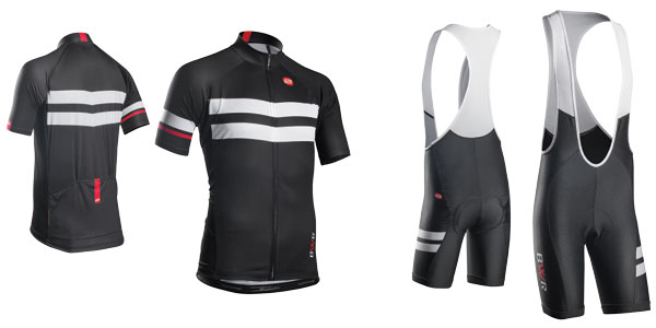 Bellwether Edge mens cycling jersey and bibshorts