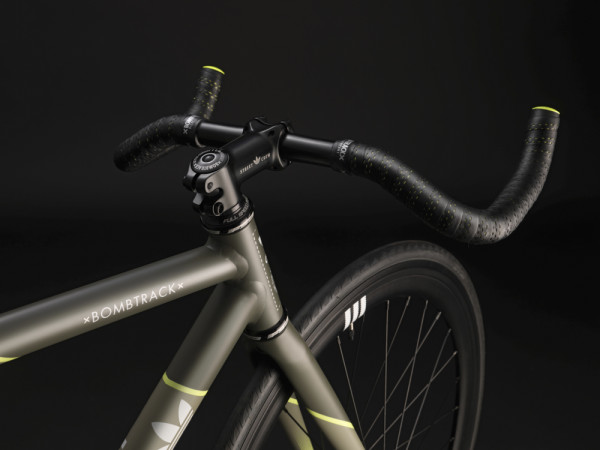 Bomb Track Fixie Front End