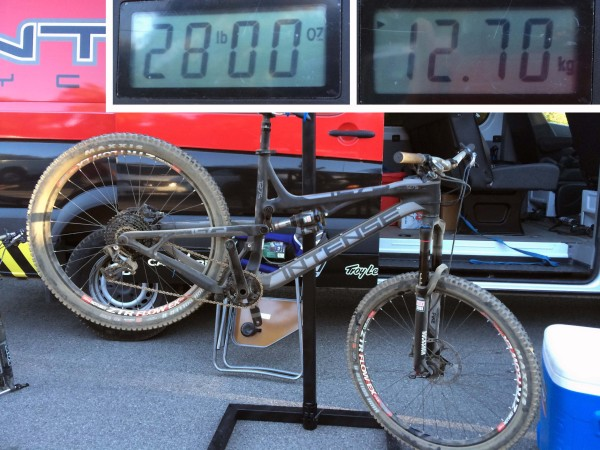 Intense Tracer T275 X01 Weight
