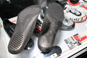 Lake carbon moldable insoles limited edition matte black road (2)