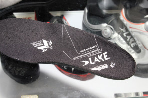 Lake carbon moldable insoles limited edition matte black road (3)