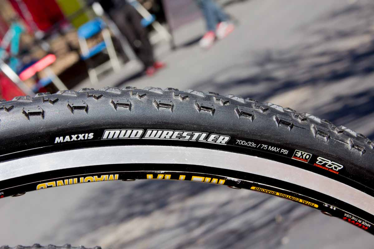 Maxxis Mud Wrestler tubeless cyclocross tire
