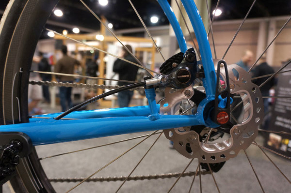 NAHBS2014 - HED gravel road bike and Ardennes Plus 650b road bicycle wheels