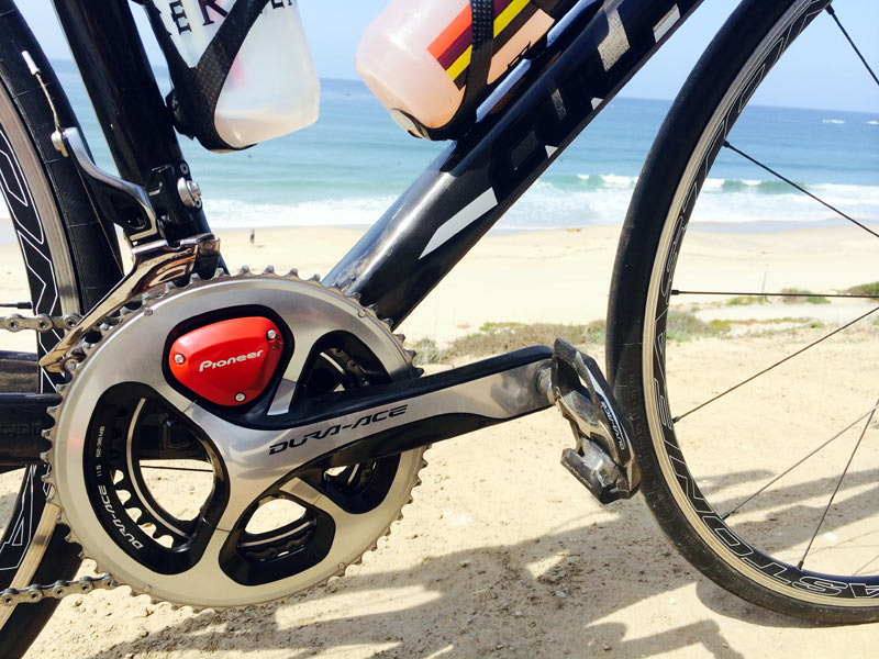Bike Power Meter : Hands on pioneer cycling power meter tech overview