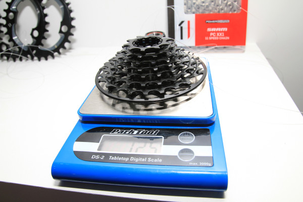 SRAM X01 DH Actual Weight (2)
