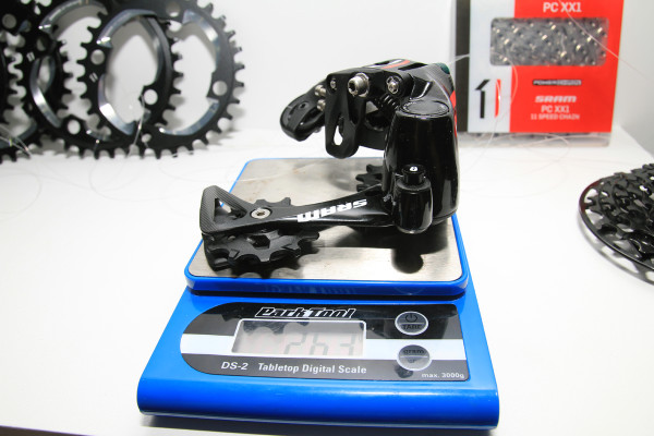 SRAM X01 DH Actual Weight (3)
