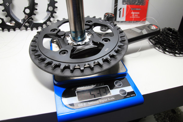 SRAM X01 DH Actual Weight (4)