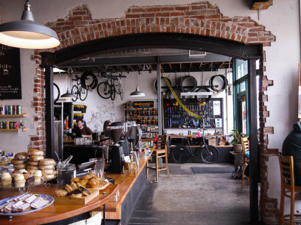 Beer? Coffee? Bikes? Donuts? What's not to like?