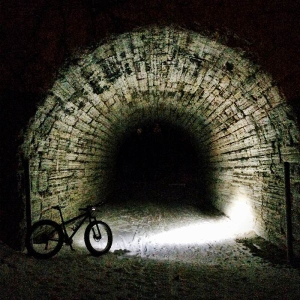 bikerumor pic of the day Minnesota night on the river trail