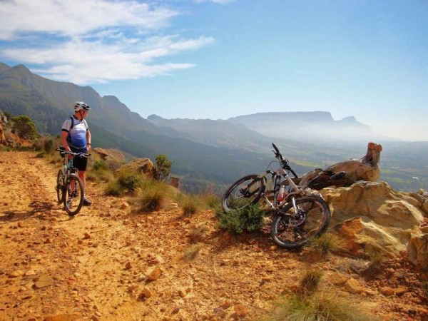 bikerumor pic of the day tokai Plantation trails, Cape town South Africa