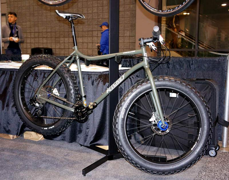 NAHBS 2014: Ritchey Builds His First Fat Bike & First Carbon ...
