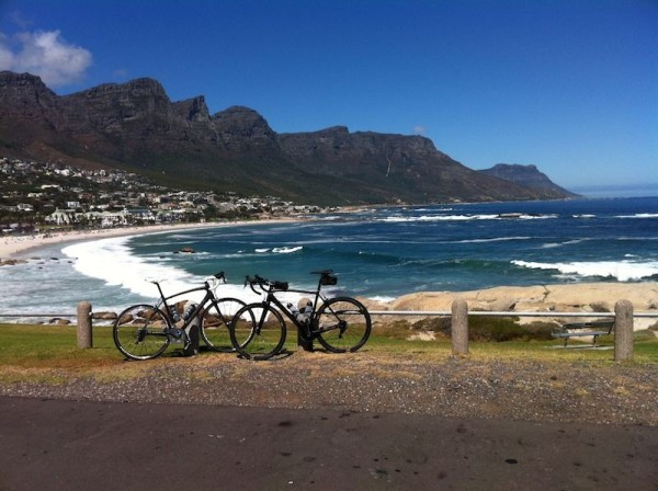 bikerumor pic of the day Warm up ride for the 2014 Cape Argus. Camps bay, Cape Town South Africa.