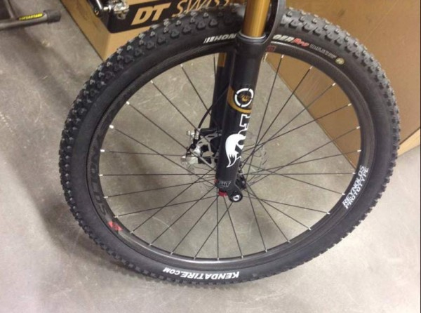 prototype Reynolds Black Label DH 650b mountain bike wheels